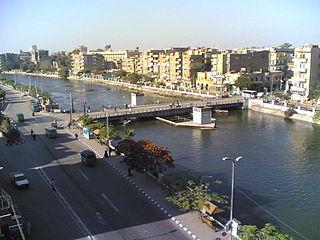Shibin El Kom city in Monufia, Egypt