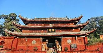 Wenchang Wang - Wenchang temple of Zitong