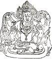 大黒天(大悲胎藏大曼荼羅 仁和寺版) - Mahakala (Ninna-ji Taizō Mandala).jpg
