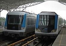 武汉地铁DKZ8型电动车组