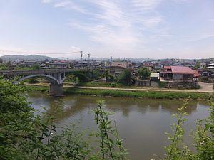 Cultural Landscape (Japan) - Image: 重要文化的景観・左沢町場2