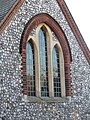 -2019-12-11 Window, Parish church of Saint Peter, Church Street, Sheringham.JPG