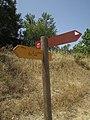 .23-06-2017 Direction finger sign, Via Algarviana, Albufeira.JPG