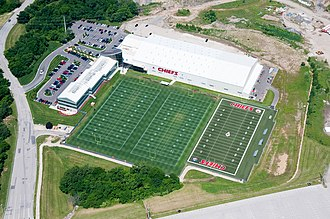 Jovan Belcher - The Chiefs' practice facility near Arrowhead Stadium where Belcher killed himself