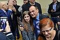 02016 094 Paweł Kukiz mit Kukiz'15-Parteigängern in Bielsko-Biała.JPG