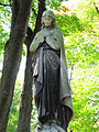 041012 Sculpture and architectural detail at the Orthodox cemetery in Wola - 06.jpg