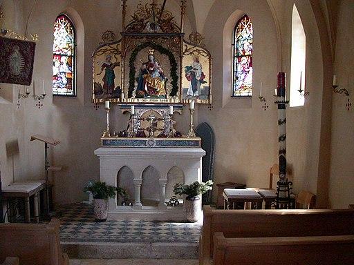 0546 - Church on Wendelstein