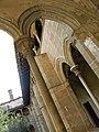 084 Sant Jeroni de la Murtra, claustre, angle nord-oest.JPG