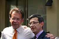 0905 - Alessandro Cecchi Paone e Sergio Lo Giudice al Congresso Arcigay - Foto Giovanni Dall'Orto 11-5-2007.jpg