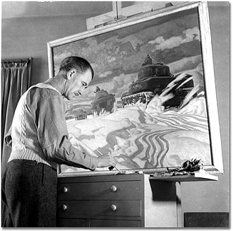 A. J. Casson - Casson in 1943