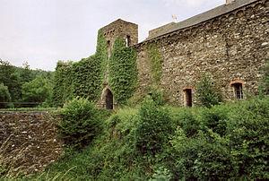 Langenau Castle - Image: 10RK Burg Langenau Toranlage