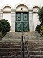 119 Santa Maria de Caldes d'Estrac, portal.JPG