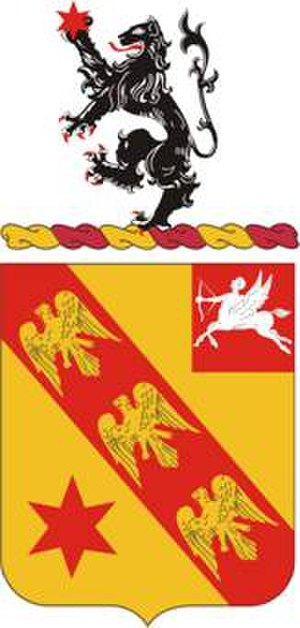 2nd Battalion, 11th Field Artillery - Image: 11FARegt COA