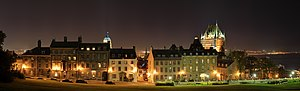 Architecture of Quebec City - Colonial buildings in Old Quebec