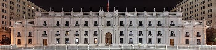129 - Santiago - La Moneda - Janvier 2010.jpg