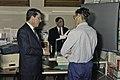 14 Novembre 1991 le président de l'UNESCO à l'INRA de Versailles-1-cliche Jean Weber.jpg