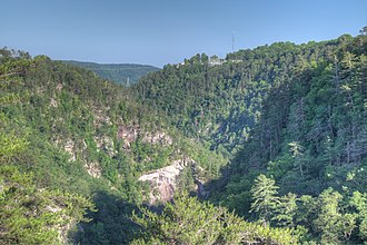 Tallulah Gorge - View of Tallulah Gorge from an overlook