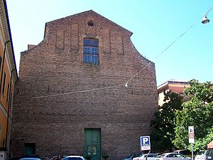 Church of Theatines, Ferrara - Facade