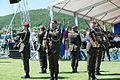16 obljetnica vojnoredarstvene operacije Oluja 05082011 Pocasno zastitna bojna pocasno ceremonijalni program 393.jpg