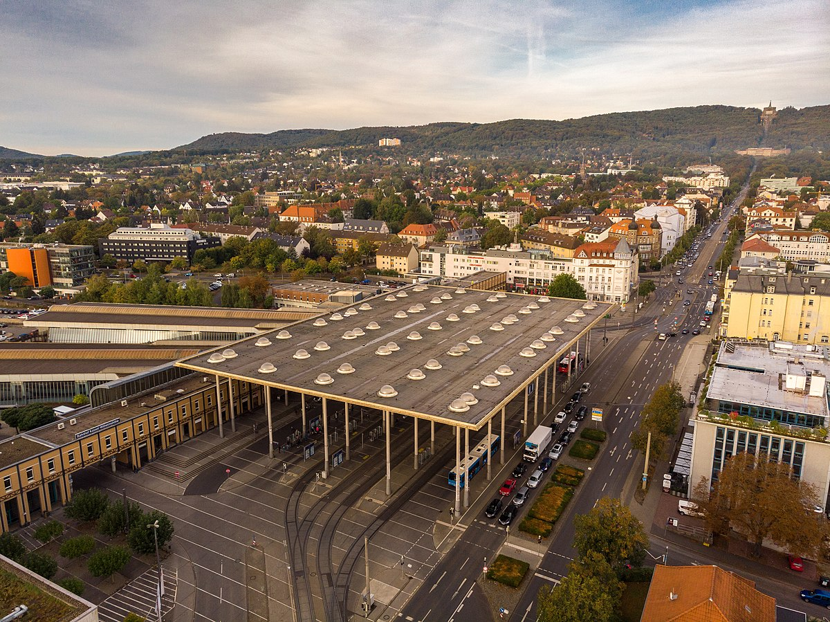 Kassel Parken Innenstadt