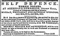 1843 SheridansGym JulienHall BostonDailyAtlas 23July.png