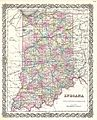1855 Colton Map of Indiana - Geographicus - Indiana-colton-1855.jpg