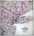 1867 Beers Map of New York City and Vicinity ( Westchester, Long Island, Newark, Bergen ) - Geographicus - NewYorkArea-beers-1867.jpg