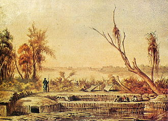 Mato Grosso Campaign - Paraguayan fortification