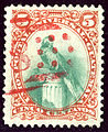 1881 Guatemala 5C Yv24 oblRouge.jpg