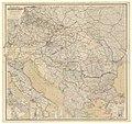 1901 map - Verkehrs-Karte von Oesterreich-Ungarn nebst den angrenzenden Ländern des deutschen Reiches, von Russland und der europäischen Türkei.jpg
