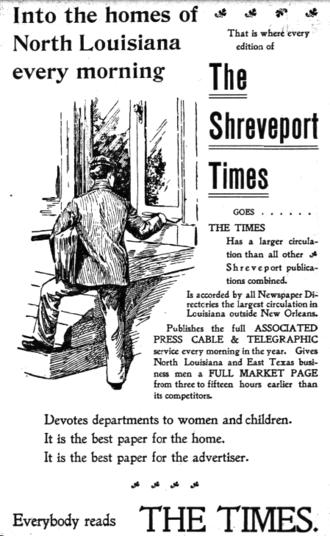 The Times (Shreveport) - Advertisement for Shreveport Times, 1902