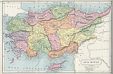 1907 map of Asia Minor-Atlas of Ancient and Classical Geography by Samuel Butler.jpg