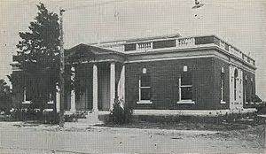 Commerce, Texas - Commerce's Federal Building in 1920