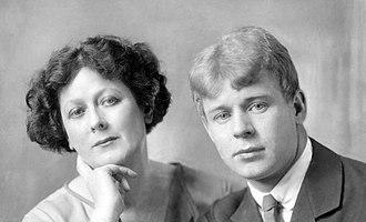 Isadora Duncan - Duncan and Sergei Yesenin