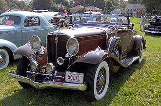 Studebaker President - 1931 Studebaker President four seasons roadster