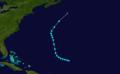 1932 Atlantic tropical storm 12 track.png