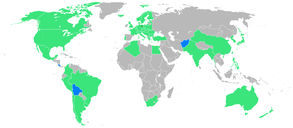 1936 Summer Olympics countries