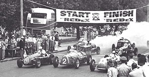 1953 Australian Grand Prix - The start of the 1953 Australian Grand Prix