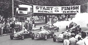 1953 Australian Grand Prix - The start of the 1953 Australian Grand Prix