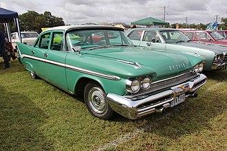 DeSoto Firesweep - Image: 1959 Desoto Firesweep 4 door Sedan Oz ass==
