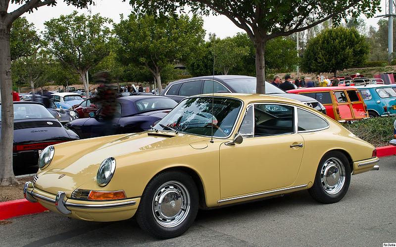 File:1964 Porsche 911 - yellow - fvl.jpg