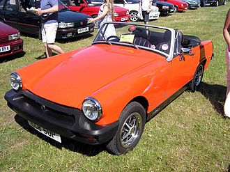MG Midget - 1976 MG Midget 1500