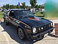 1978 AMC AMX at AMO 2015 meet in black with gold stripe 2of3.jpg