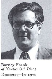 1981, Congressional Pictorial Directory - Frank's first term as Congressman