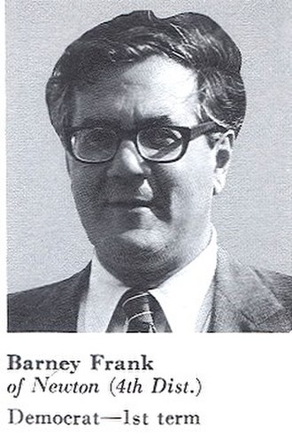 Barney Frank - 1981, Congressional Pictorial Directory – Frank's first term as Congressman