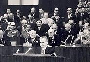 1982 Ceausescu la Moscova la 60 de ani de la formarea URSS