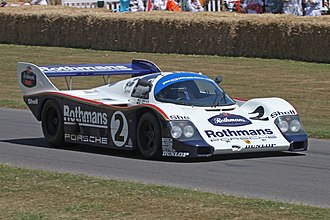 1983 World Sportscar Championship - Porsche won the 1983 World Endurance Championship for Manufacturers with the 956