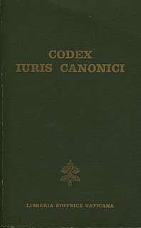 1983 Code of Canon Law 1983 codification of canonical legislation for the Latin Rite of the Catholic Church
