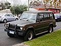 1986 Mitsubishi Pajero (NC) Superwagon wagon (2015-05-29) 01.jpg