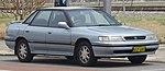 1991-1994 Subaru Liberty (BC7) GX 4WD sedan (2018-11-02) 01.jpg